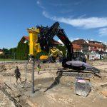 Pfahlgründung Billa Oberndorf Schmidlechner Bau (3)
