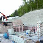 Baugrubensicherung Baustelle