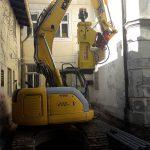 Pfahlgründung Altstadt Salzburg Schmidlechner Bau